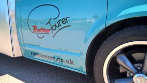 Retro Tourer Logo on Cab
