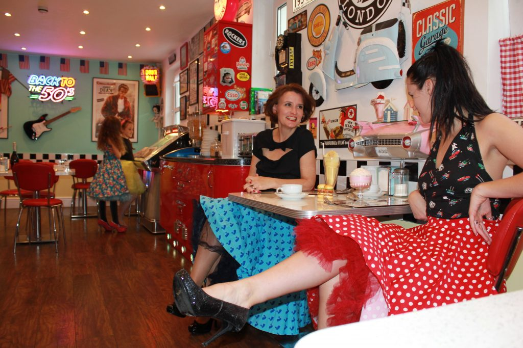 Roxy S American Style Diner Woolacombe Lindy Bop Photoshoot