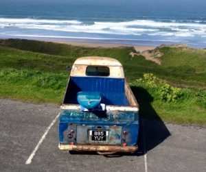 vw truck surf board
