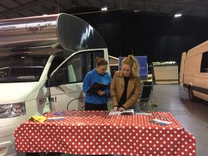 Camper Mart 2018 Telford International Centre