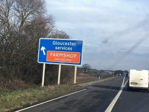 Gloucester Services Farm Shop M5