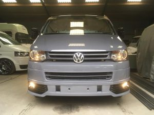 grey VW T5 chassis 5 berth