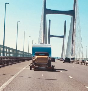 hot rod, severn bridge, 32 ford, roadster
