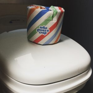 plastic free, recycled toilet paper